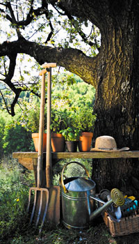 Le kit du jardinier